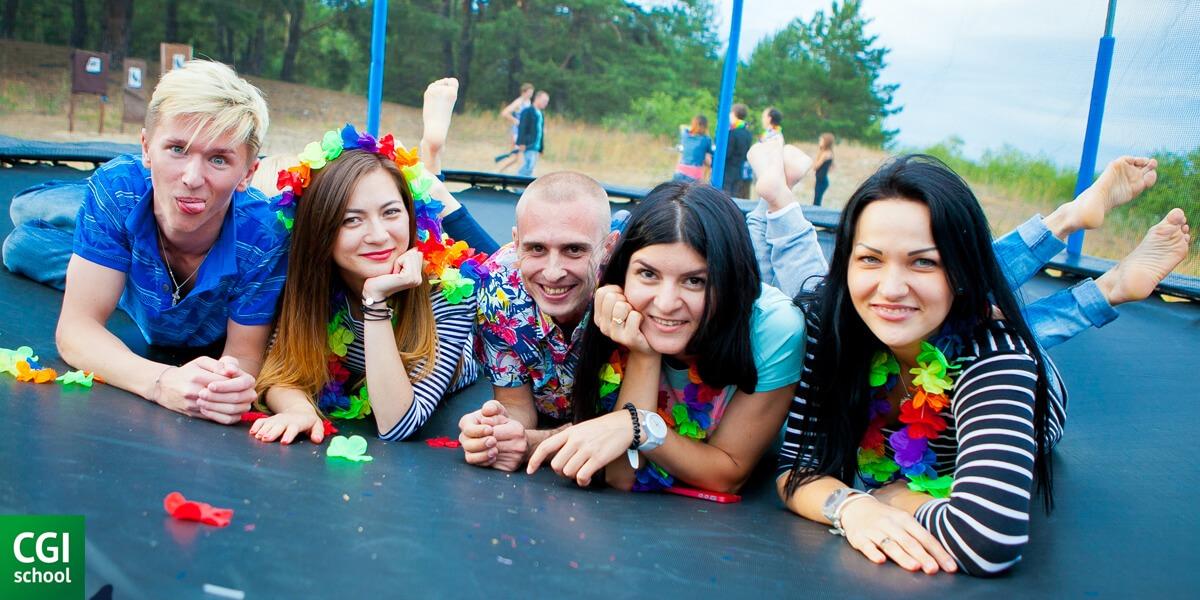 Учасники CGI School summer party 2015