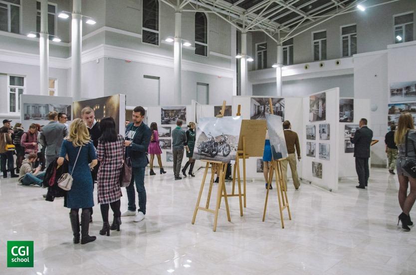 """Галерея выставки Вернисаж """"Искусство визуализации"""" 2016"""