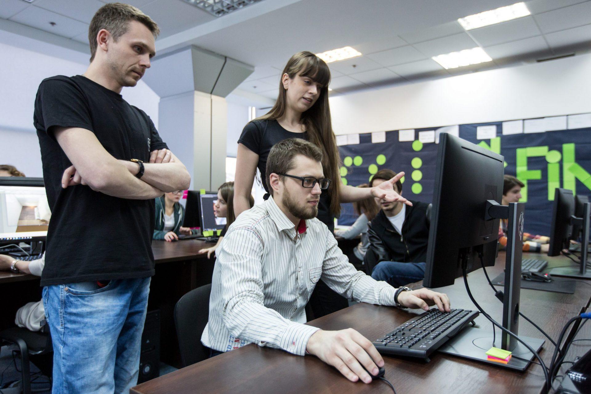 Навчальний процес у CGI Bootcamp