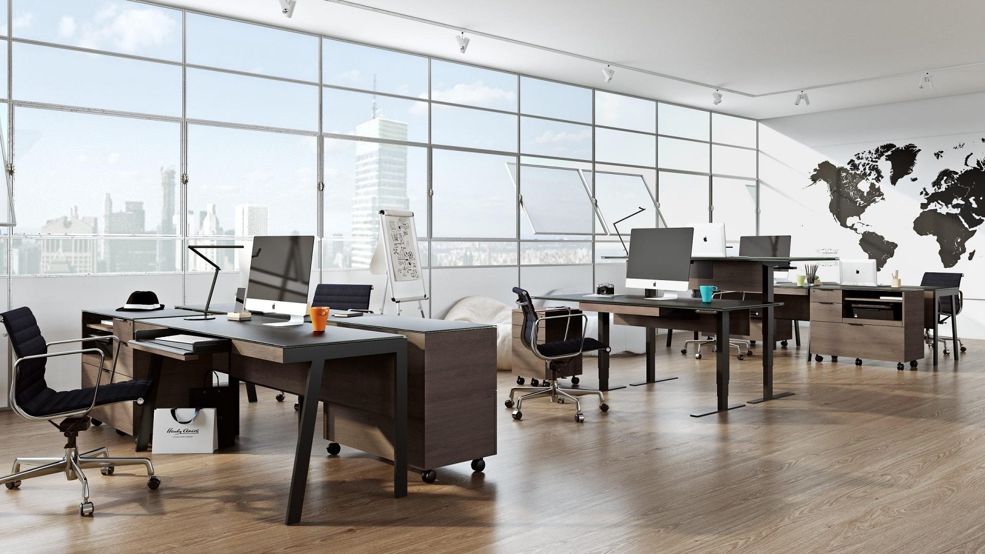 3D візуалізація офісу