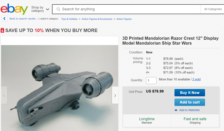 Друк 3D моделей на замовлення