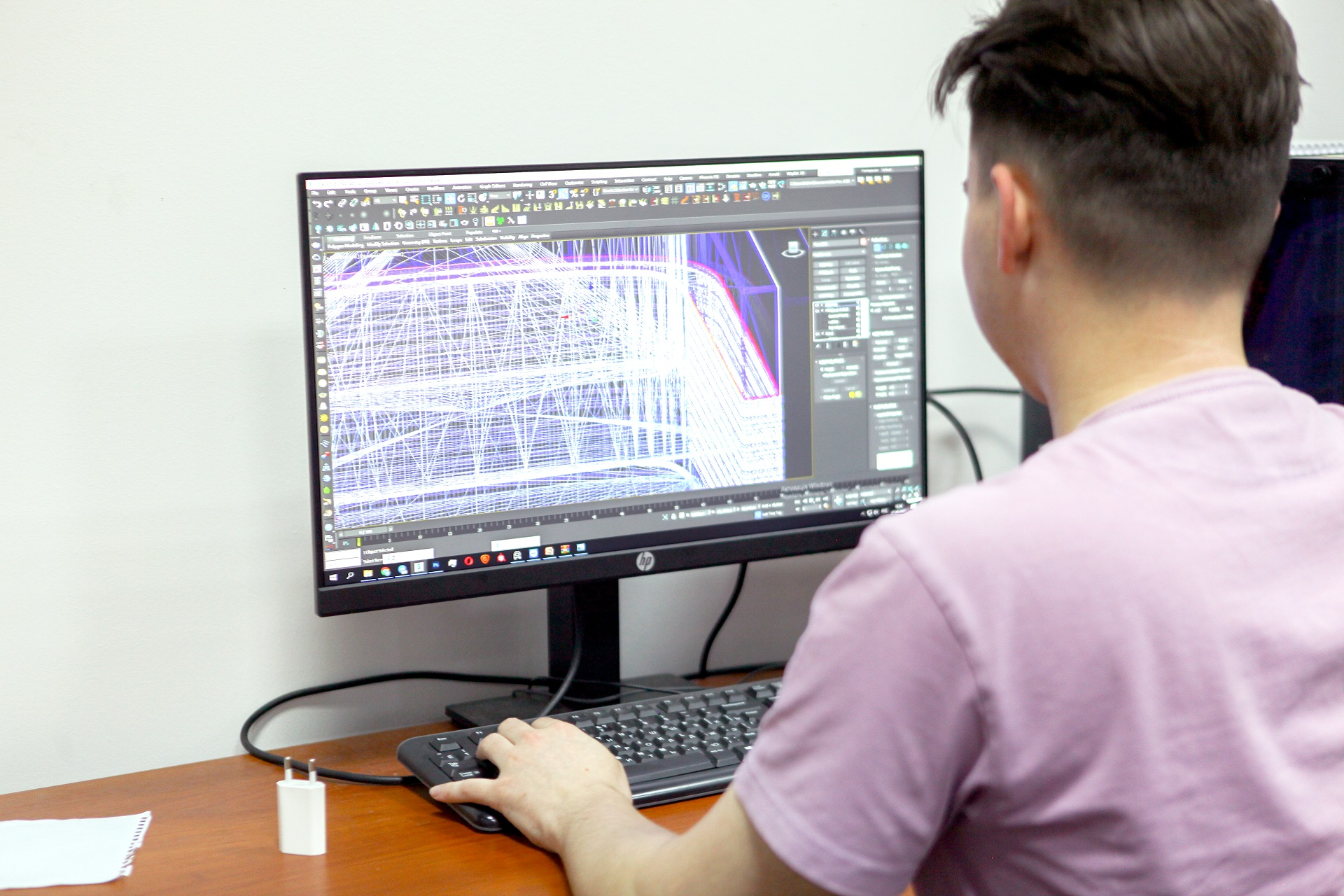 3D художник-новачок за роботою