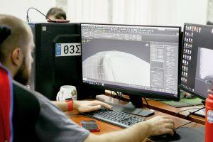 Студент за изучением 3D max