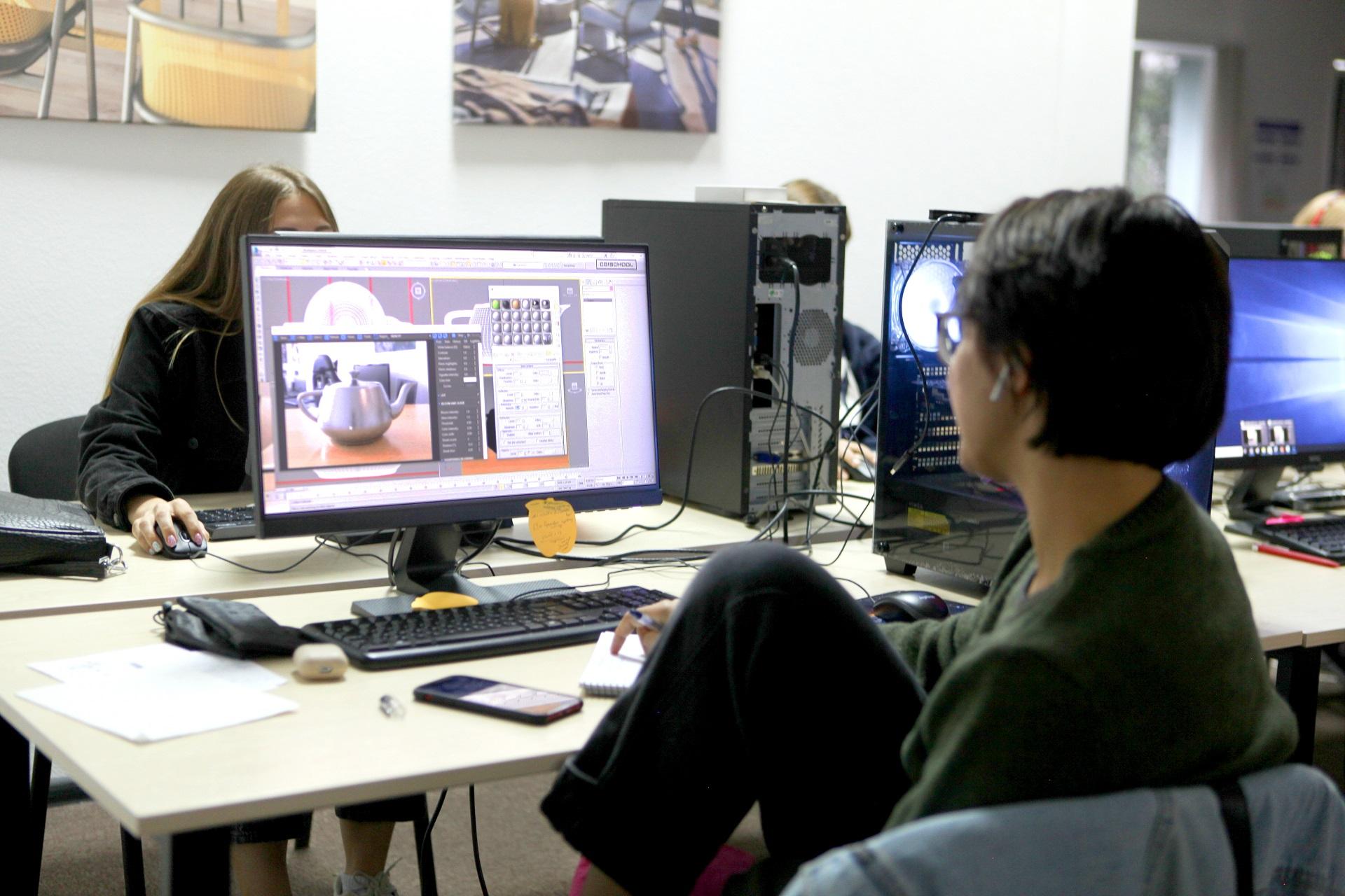 3D визуализатор в процессе творческой работы