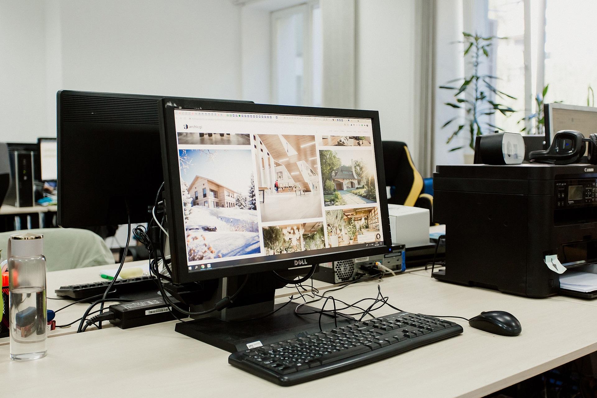Сайт о 3D визуализации архитектуры