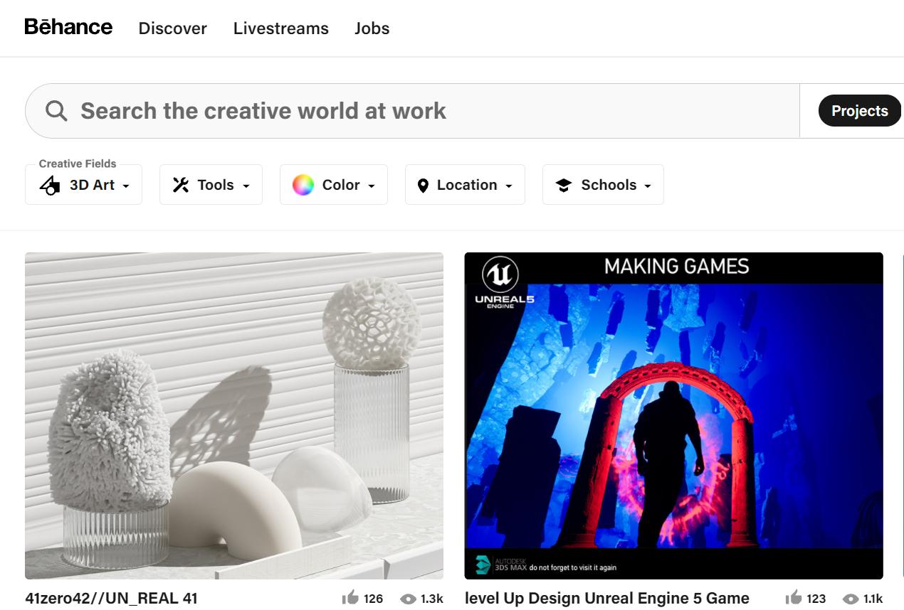 Онлайн комьюнити 3D артистов