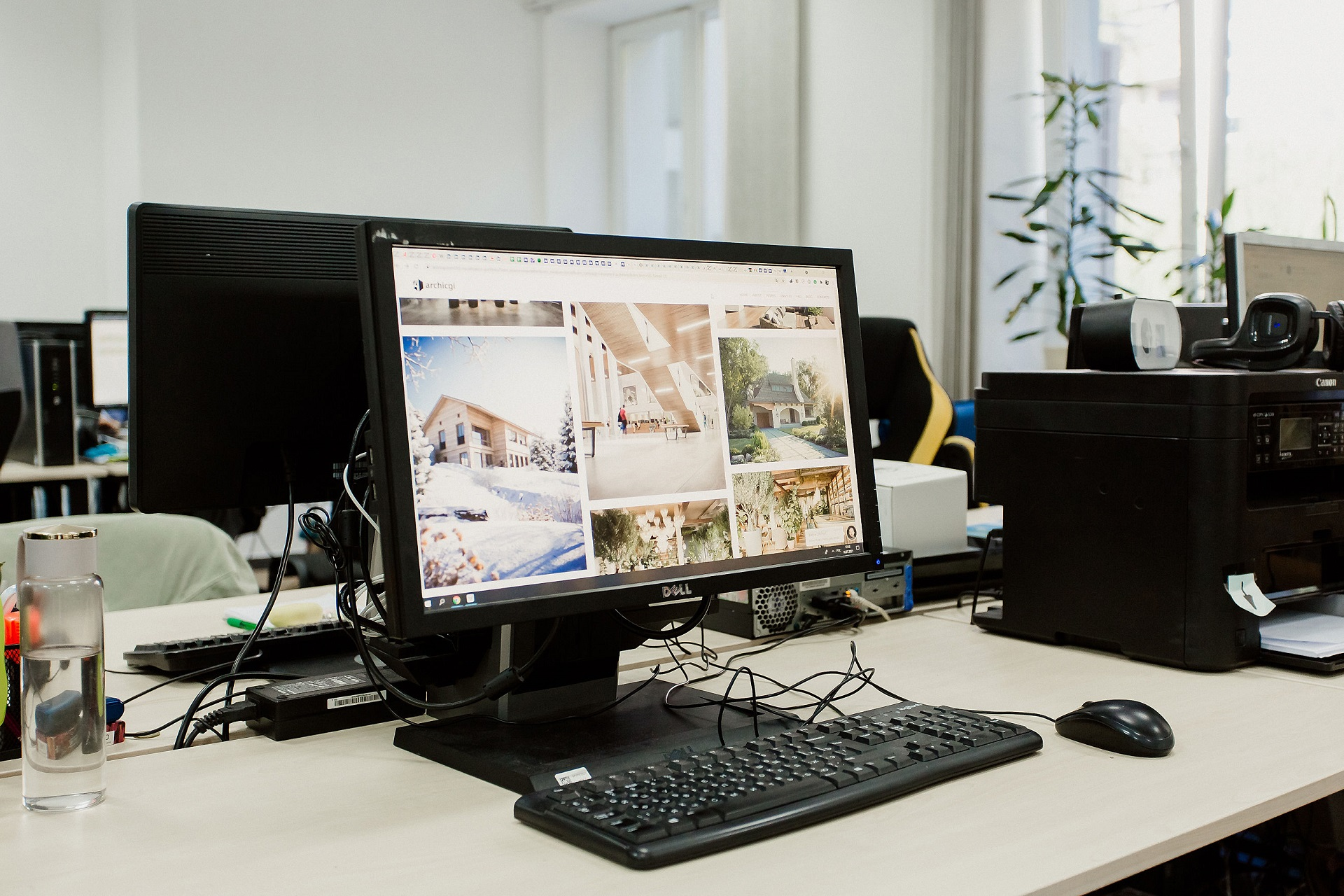 Сайт про архітектурну 3D візуалізацію